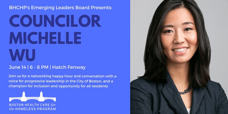 Councillor Michelle Wu BHCHP Emerging Leaders Board speaker series