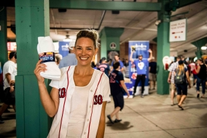 Sox for Socks 2017 Red Sox wives and girlfriends Boston Health Care for the Homeless Program