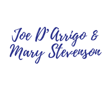 Joe D'Arrigo & Mary Stevenson